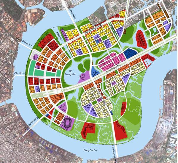 Điều chỉnh quy hoạch 11 lô đất thuộc Khu đô thị mới Thủ Thiêm, Tp.HCM