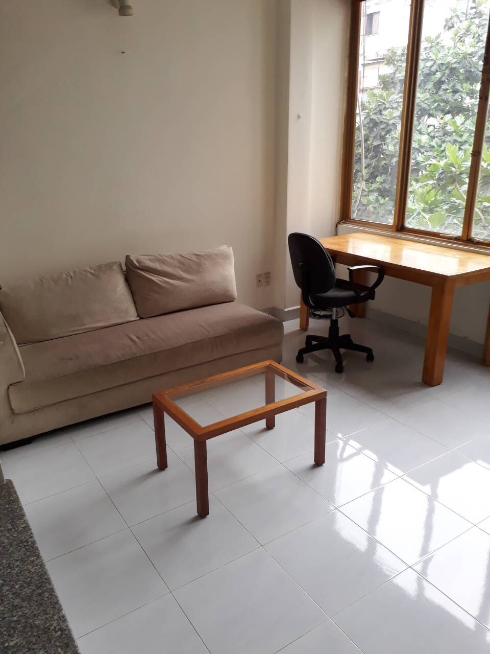 Servived Apartment For Rent in D1, 1 bedroom, $600