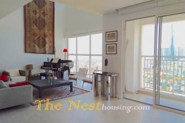 Modern Duplex Penthouse for rent in Tropic Garden, Thao Dien, $4300