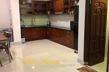 Charming house for rent in Thao Dien, 4 bedrooms, partly furnished, 1700 USD