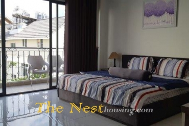 Serviced apartment for rent in Thao Dien