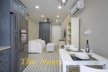 Vintage Style Servived Apartment For Rent in Thao Dien, 1 bedroom, $700