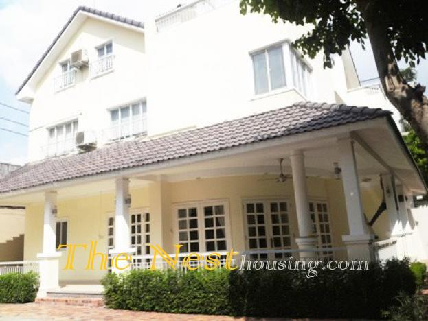 A Villa in COMPOUND for rent district 2, HCMC