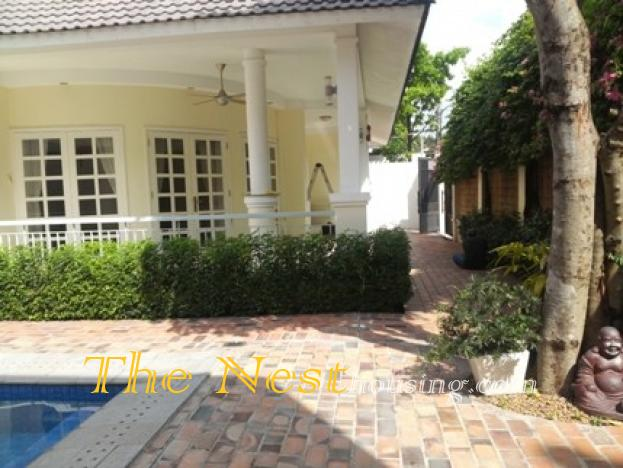 Villa for rent district 2, HCMC