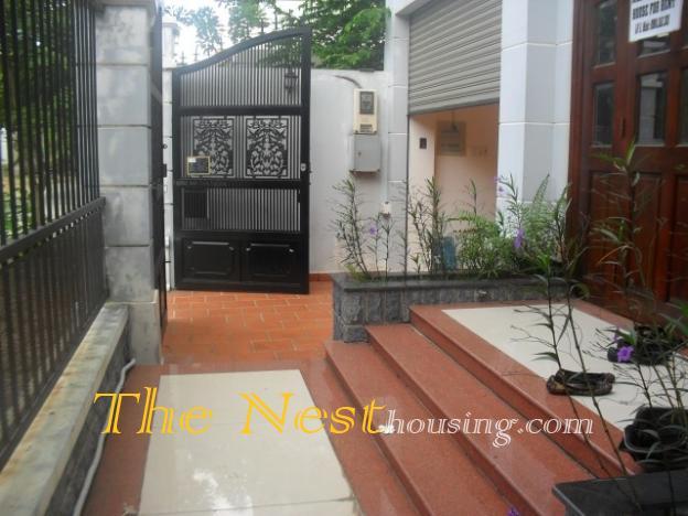 Villa for rent in compound Thao Dien