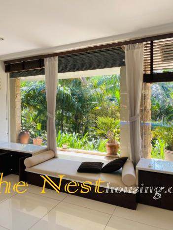 Modern villa for rent in compound, Thao Dien District 2