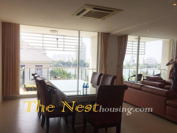 Luxury penthouse for rent in Thao Dien