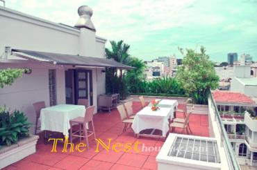 Service apartment for rent in HCMC center