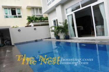 House for rent in District 2, swimming pool