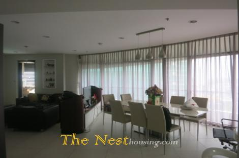 Modern apartment for rent in City Garden, 4 bedrooms, modern style, 3500USD