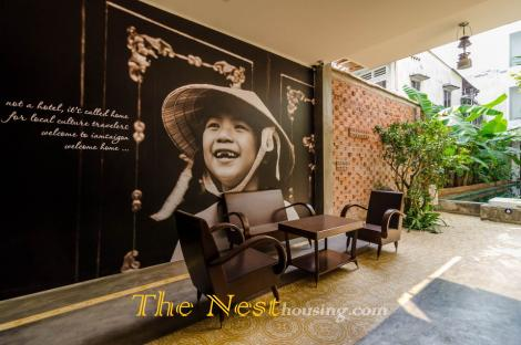 SERVICE APARTMENT HAS A PEACEFUL LIFESTYLE WITH TRUE STYLE IN BINH THANH DISTRICT