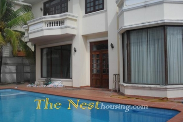 Villa for rent in compound, 4 bedrooms, partly furnished, 2700 USD