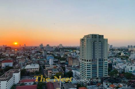 Penthouse for rent in district 5, 3 bedrooms, fully furnished, 1700 USD