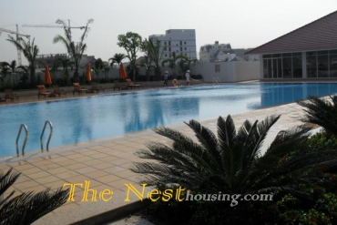 3 Bedrooms apartment for rent in River garden, fully furnished, 1600 USD includes management fees