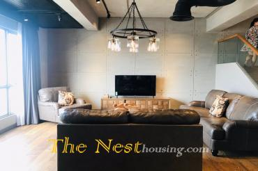 Luxury penthouse for rent in Masteri Thao Dien