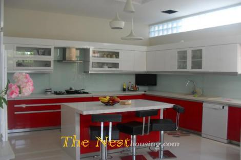 House for rent in Thao Dien, 4 bedrooms