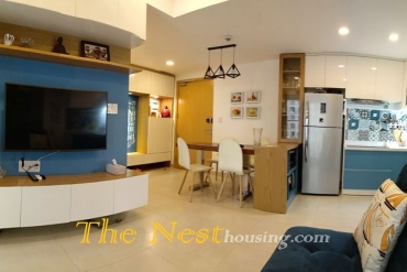 Apartment 2 bedroooms for rent in Masteri Thao Dien, 800 USD