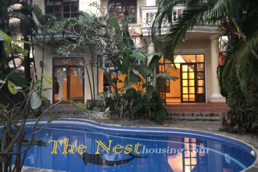 Modern villa for rent in compound Thao Dien, 5 bedrooms, private swimming pool, 4500 USD