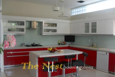 Nice house for rent in Thao Dien, 4 bedrooms, 1500 USD