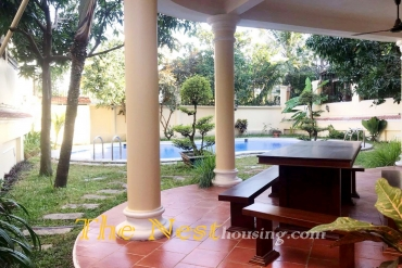 Villa for rent in compound, 4 bedrooms, swimming pool, 4000 USD