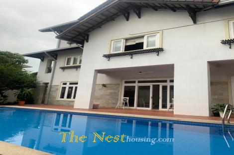 Villa for rent in Thao Dien, 4 brdrooms close to Mega mall