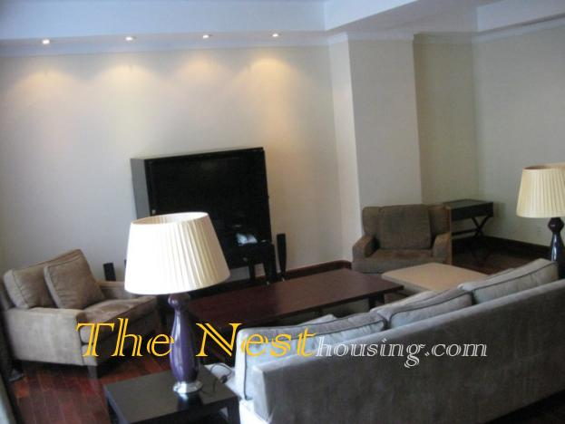 Nguyen Du Park in dist1, duplex for rent with 2 beds