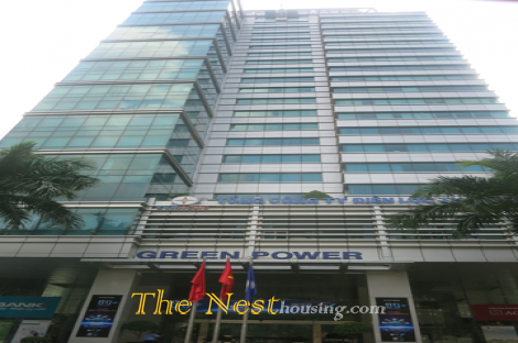Green Power office for lease in central of district 1 Ho chi Minh, B Grade office, best option for medium company.
