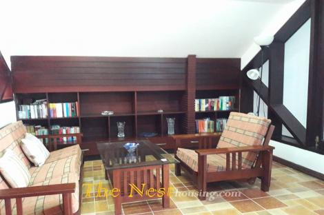 Apartment 1 bedroom on top of villa for rent in Thao Dien