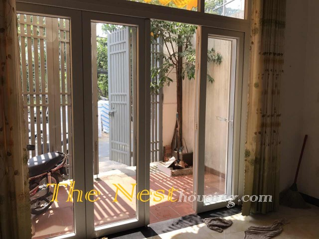 House for rent in Thao Dien - 5 bedrooms, partly furnished, good location  1200USD