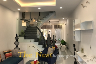 Nice house for rent in Thao Dien, 3 bedrooms, fully furnished, 1200 USD