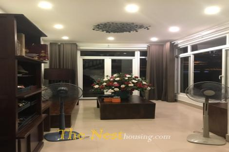 Modern villa for rent inThao Dien, modern style, good location, 3000USD