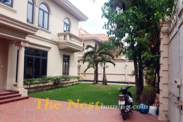Villa with garden - swimming pool in Thao Dien ward, Dist 2, HCMC