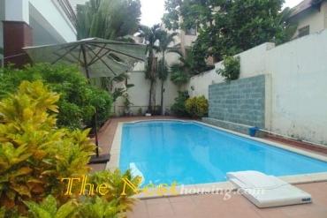 villa for rent in Thao Dien, swimming pool, 4 bedrooms, 2200 USD