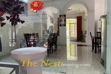 Villa for rent in Thao Dien, big garden, 7 bedrooms, 9000 USD