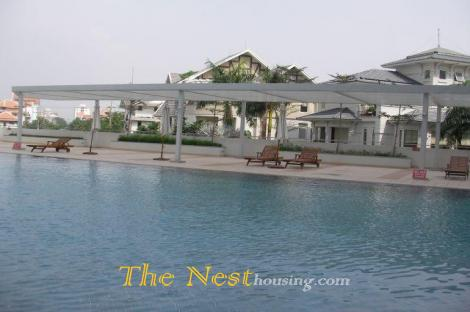 Modern villa for rent in compound, 5 bedrooms, partly furnished, 4200 USD