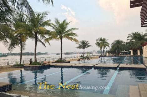 Villa for rent in compound, 4 bedrooms, partly furnished, 4200 USD