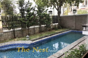 River view villa in Thao Dien district 2, 5 bedrooms with swimming pool, garden