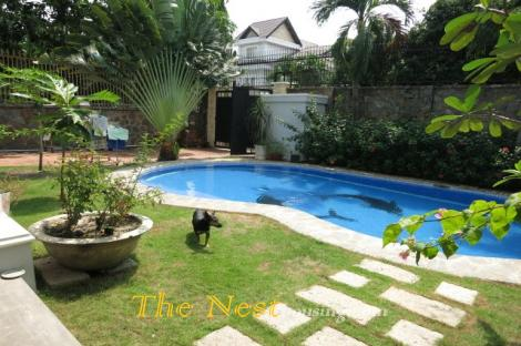 House with swimming pool close to British School Disstrict 2 HCMC