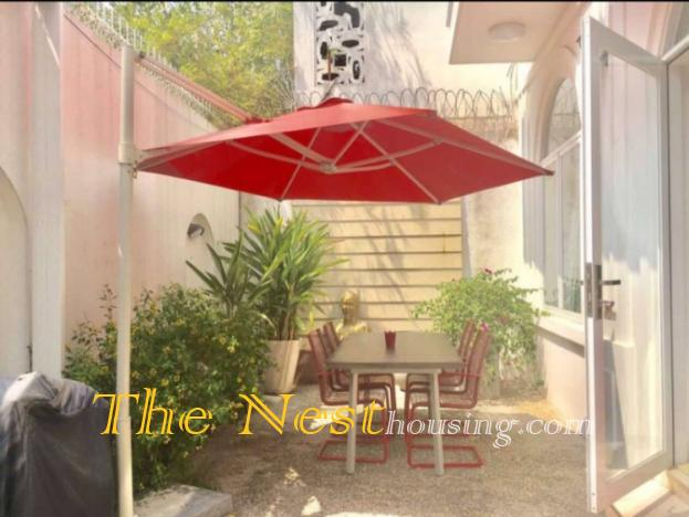 Charming house  for rent in Thao Dien, 2 bedrooms, rental 1500
