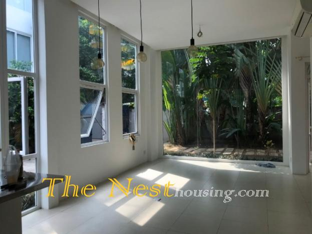 Charming house with garden for rent Dist 2 HCMC