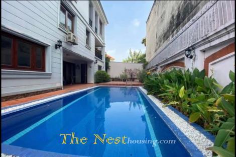 Villa for rent in Thao Dien, District 2, HCMC