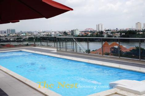 Modern apartment 3 bedrooms for rent in Thao Dien