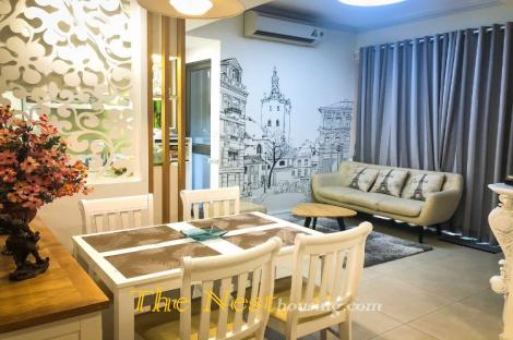 Modern apartment 2 bedrooms for rent in Masteri Thao Dien