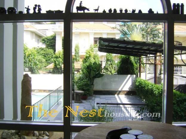 Villa for rent in compound