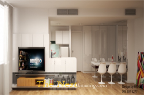 Apartment in Ben Thanh Luxury  building for rent