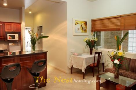 Serviced apartment one bedroom, dist 3