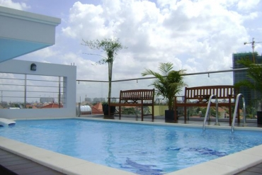 Service apartment for rent in Thao Dien, modern style, good location