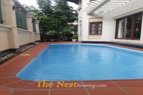 in Thao Dien has a House for rent with Swimming pool