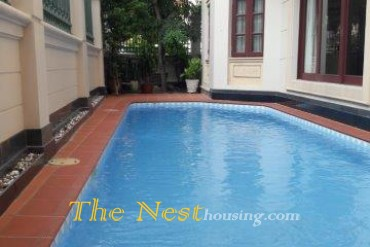Villa for rent in Thao Dien, 4 bedrooms, good location