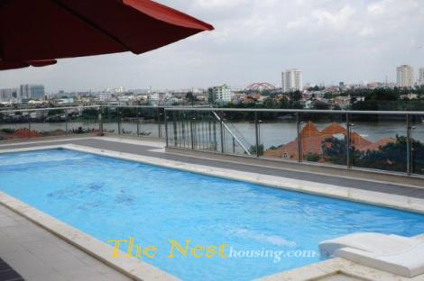 Serviced apartment in Thao Dien dist 2